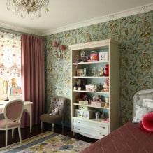 Обои в детскую комнату для девочек: 68 современных идей, фото в интерьере-2