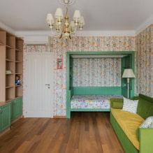 Обои в детскую комнату для девочек: 68 современных идей, фото в интерьере-4