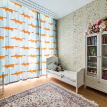 Обои в детскую комнату для девочек: 68 современных идей, фото в интерьере-8