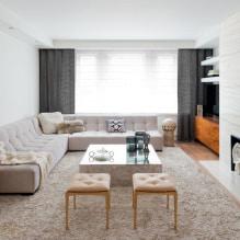 Бежевый диван в интерьере: 70+ современных фото и идей оформления-0