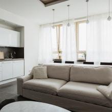Бежевый диван в интерьере: 70+ современных фото и идей оформления-2