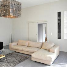 Бежевый диван в интерьере: 70+ современных фото и идей оформления-4