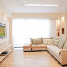 Бежевый диван в интерьере: 70+ современных фото и идей оформления-6