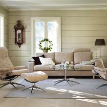 Бежевый диван в интерьере: 70+ современных фото и идей оформления-7