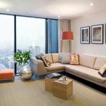 Бежевый диван в интерьере: 70+ современных фото и идей оформления-8
