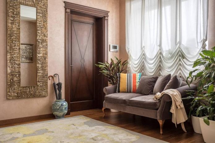 Австрийские шторы на окнах: виды, материалы, цвет, дизайн и рисунки, комбинирование