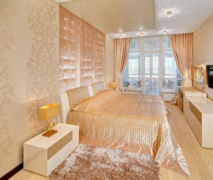 Интерьер в персиковых тонах: значение, сочетание, выбор отделки, мебели, штор и декора
