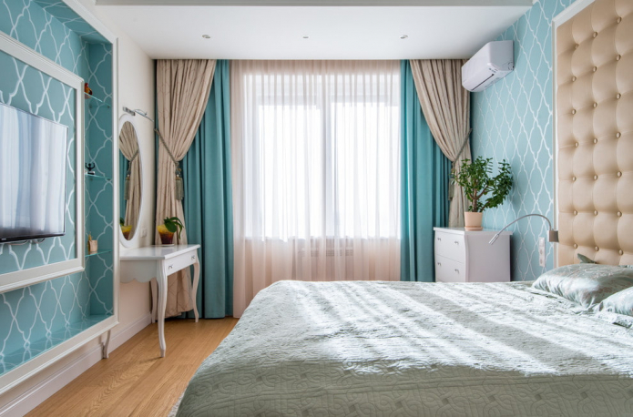 Комбинированные шторы: виды, дизайн, идеи сочетаний тканей, декорирование