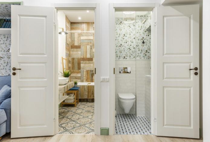 Двери в скандинавском стиле: виды, цвет, дизайн и декор, выбор фурнитуры