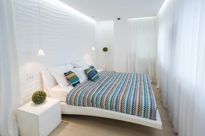 Кровать в спальню: фото, дизайн, виды, материалы, цвета, формы, стили, декор