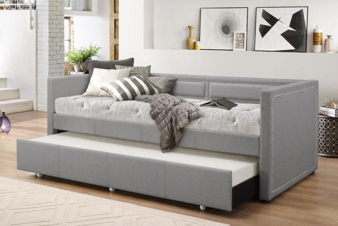 Софа в интерьере: виды, механизмы, дизайн, цвета, формы, отличия от других диванов