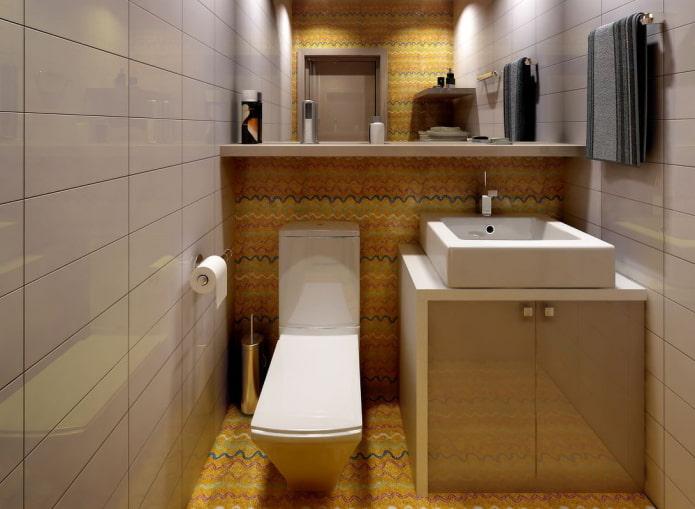 Шкаф в туалет: дизайн, виды, варианты расположения, фото в интерьере