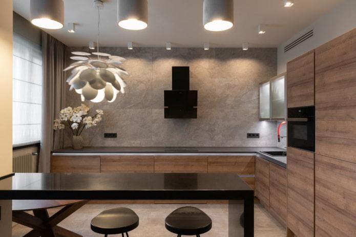 Кухни в стиле модерн: особенности оформления, варианты отделки и мебели