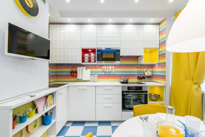 Какой лучше выбрать цвет кухни? Советы дизайнеров, идеи и фото.