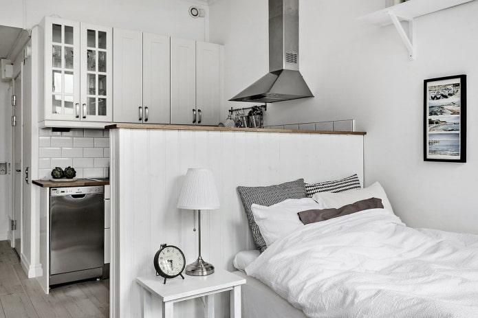 Как сделать спальное место на кухне? Фото, лучшие идеи для маленькой комнаты.