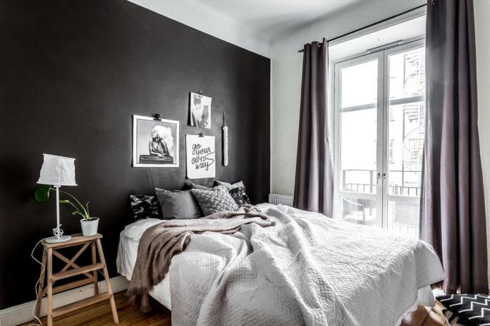 Спальня в скандинавском стиле очарование этнического интерьера