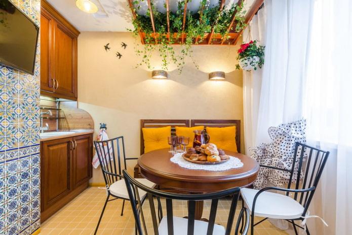 Особенности оформления кухни в средиземноморском стиле