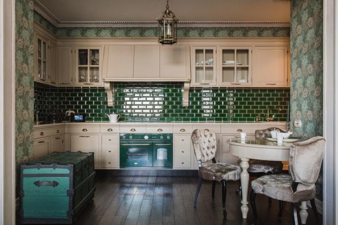 Кухня в английском стиле: советы по оформлению (45 фото)