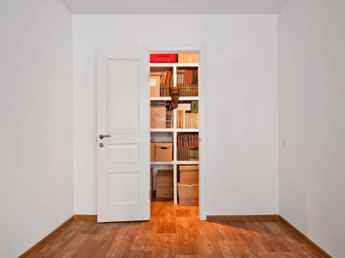 Кладовка в квартире: фото обзор лучших решений