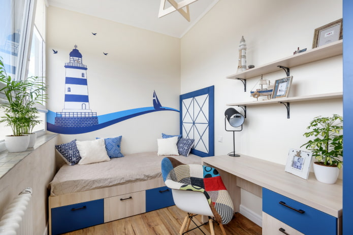 Особенности дизайна детской комнаты 12 кв м