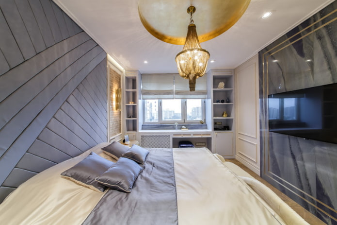 Люстры в спальню: как создать комфортное освещение (45 фото)