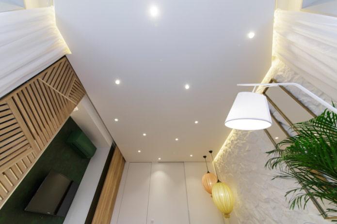 Точечные светильники в интерьере: лучшие фото и особенности выбора