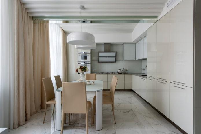 Кухня в светлых тонах: 50 фото с лучшими идеями