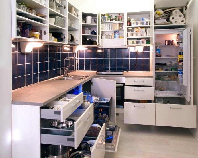 20 идей для организации хранения на кухне