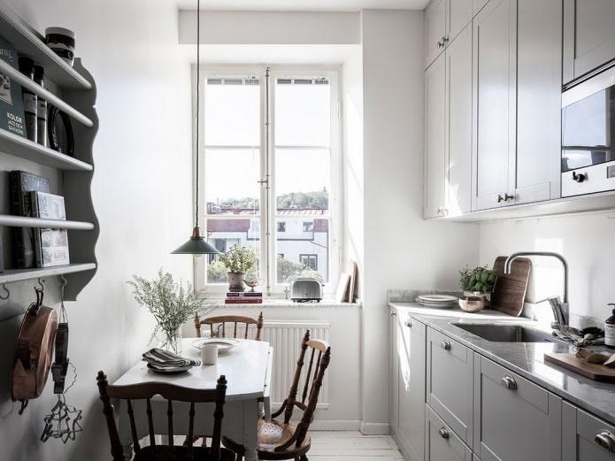 Как создать гармоничный дизайн маленькой кухни 8 кв м?