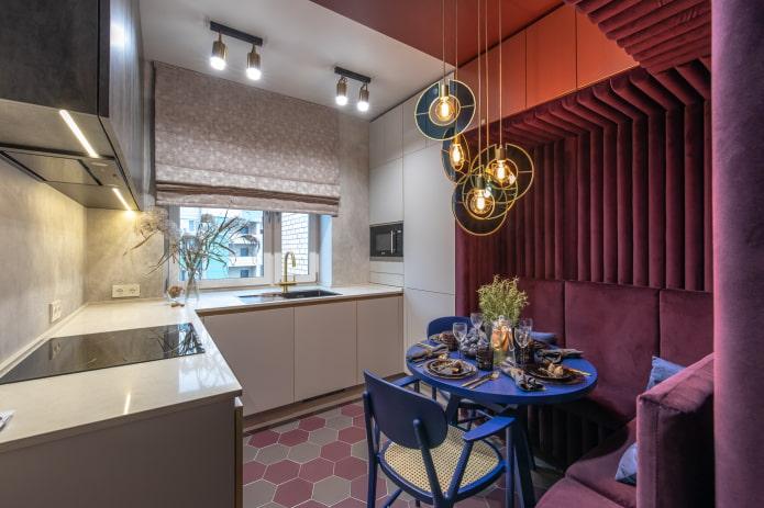 Как обустроить кухню 3 на 3 метра? 40 фото и варианты дизайна