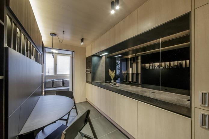 Как создать гармоничный дизайн прямоугольной кухни?