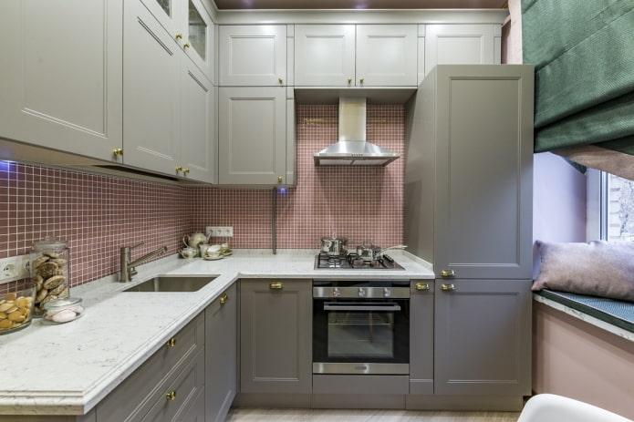 Дизайн кухни 7 кв м – 50 реальных фото с лучшими решениями