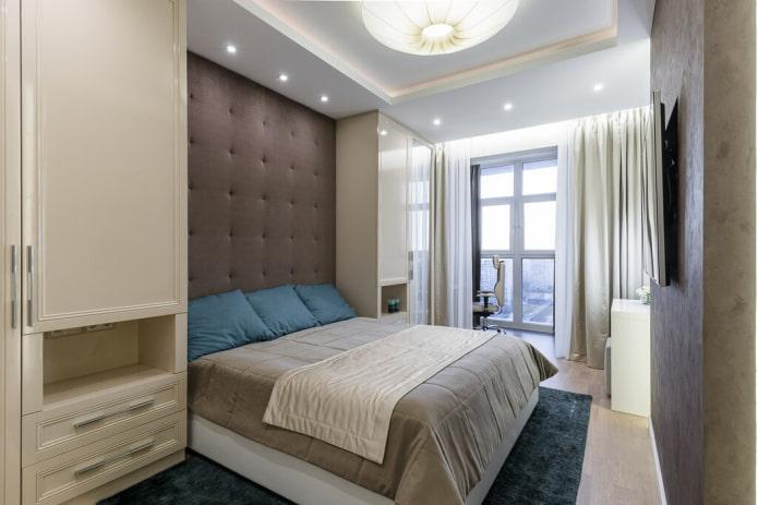 Дизайн спальни 15 кв м – советы по оформлению и фото в интерьере