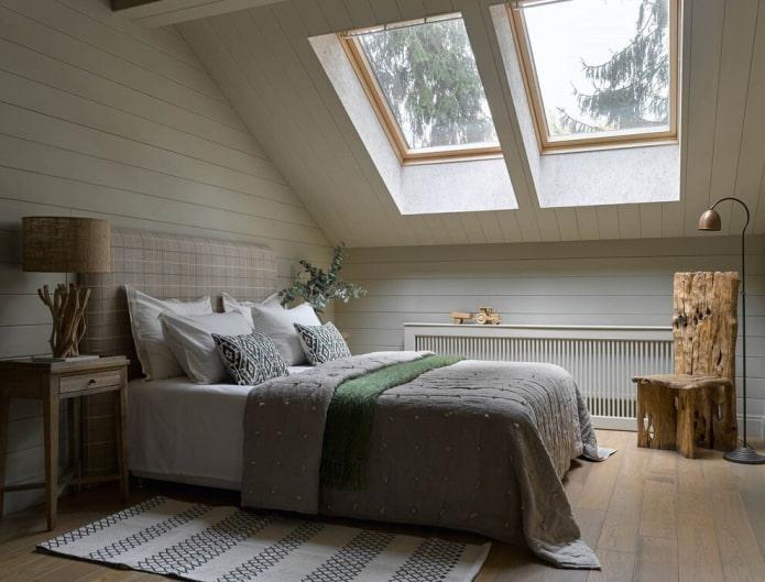 Дизайн спальни в частном доме: реальные фото и идеи оформления