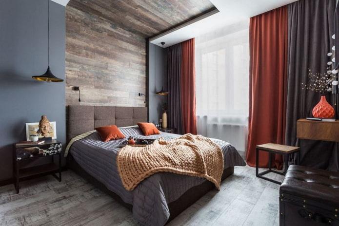 Как оформить интерьер спальни 20 кв м?