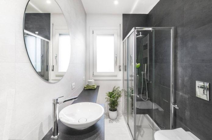 Как создать гармоничный дизайн узкой ванной комнаты?