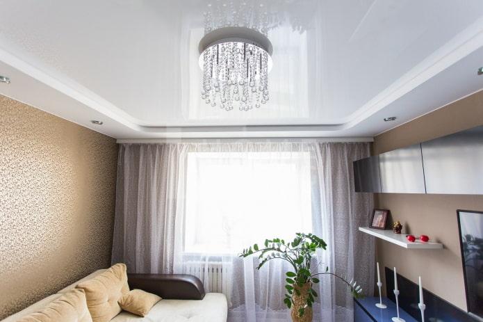 6 способов зрительного увеличения высоты потолка