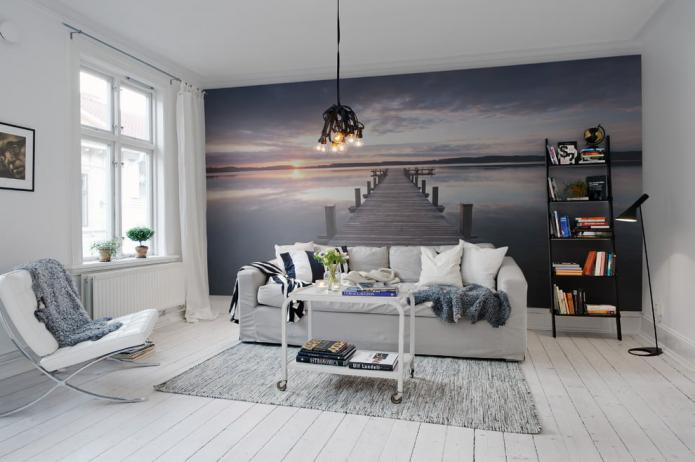 Как красиво оформить акцентную стену в интерьере?