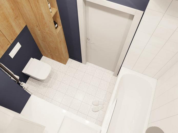 8 дизайн-проектов ванной комнаты в панельном доме