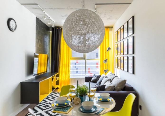 Как правильно оформить узкую гостиную?