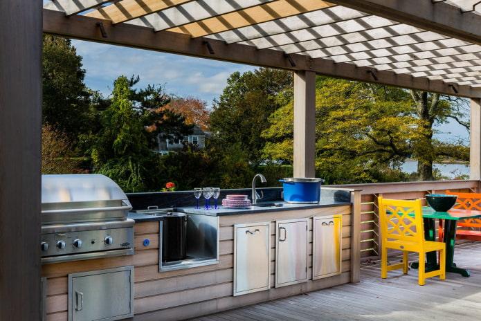 Летняя кухня: виды, фото и идеи дизайна