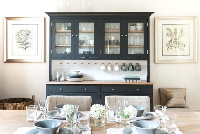 Буфет для кухни: виды, выбора цвета, дизайна и стиля