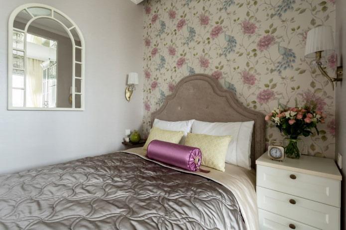 Как оформить дизайн спальни 8 кв м?