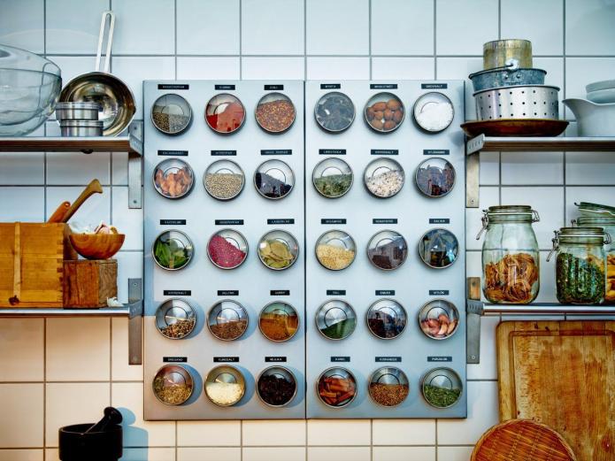 15 лучших идей хранения специй на кухне