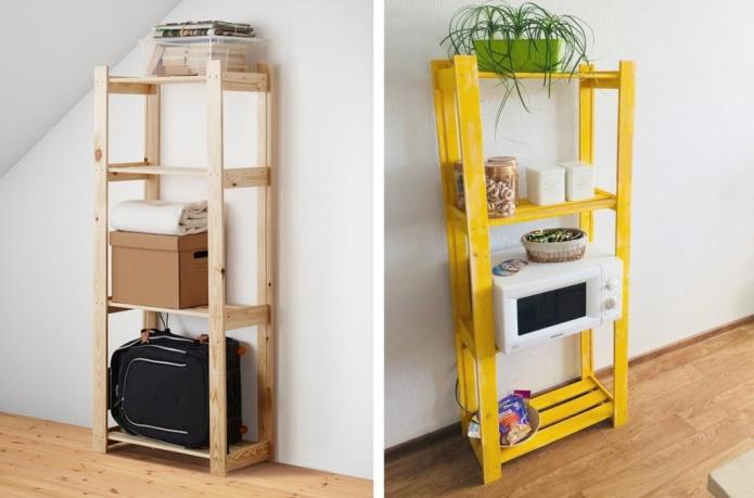 7 идей, как можно оригинально украсить полки и стеллажи от IKEA