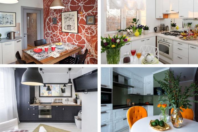 Дизайн кухни в панельном доме (7 примеров ремонта)