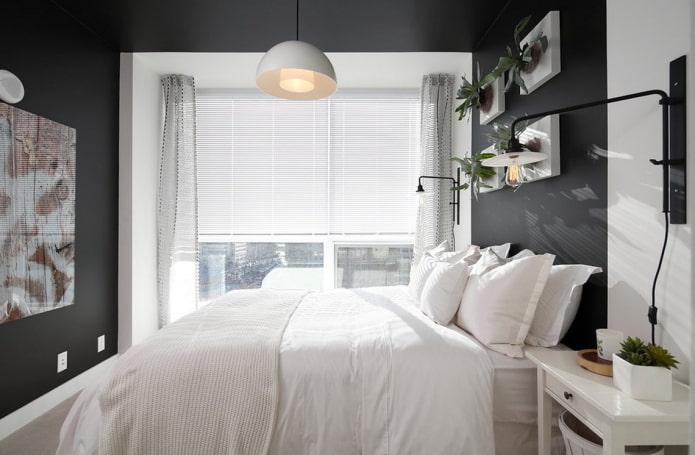 Как правильно выбрать шторы в маленькую спальню?