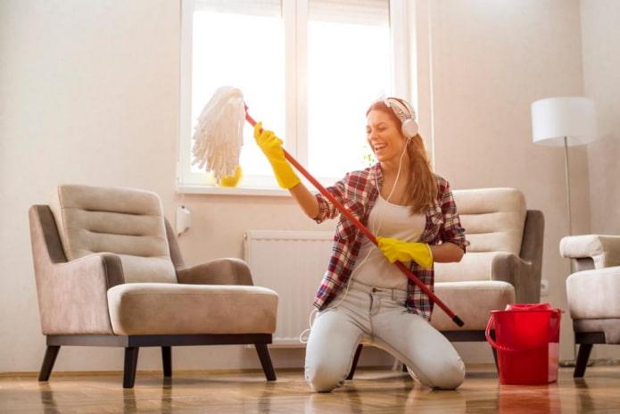 7 практических советов, как полюбить уборку квартиры