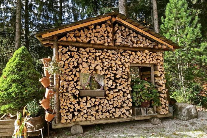 10 идей для укладки дров