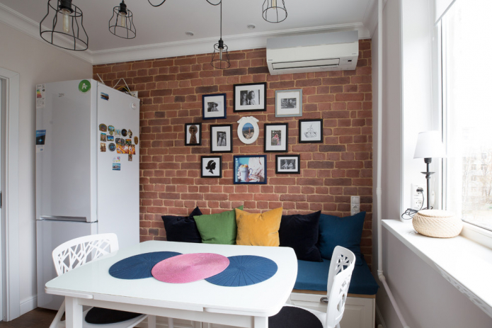 13 идей оформления стены возле обеденного стола